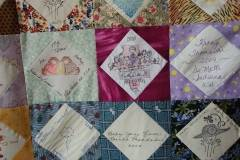 A siggy quilt from Fernande Authuys
