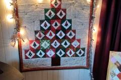 The Christmas Tree Siggy Quilt from Willy Pieters