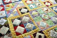 Siggy quilt detail